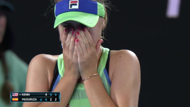 Watch: The moment Kenin won the Australian Open