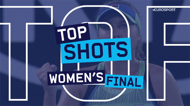 Australian Open| De 5 mooiste punten uit de vrouwenfinale