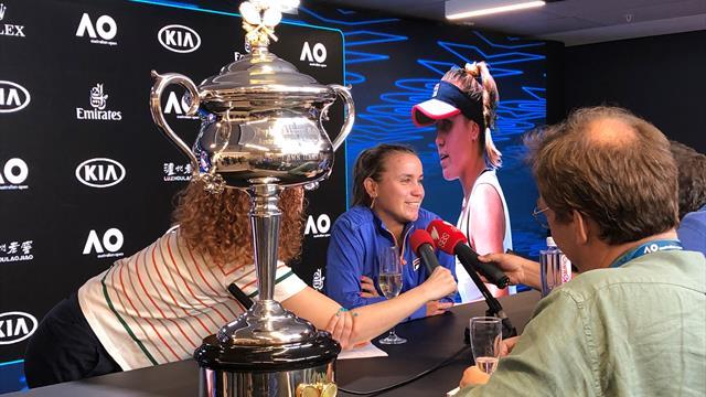 Cahill a comparat-o pe Kenin cu Halep. Concluzia trasă, după finala feminină de la Australian Open