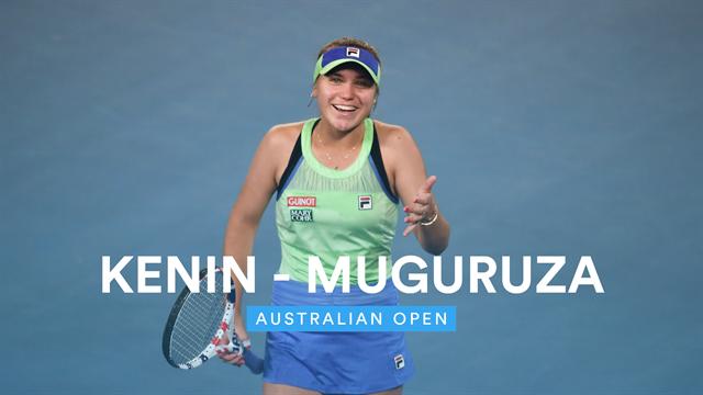 Australian Open| Uitgebreide samenvatting Kenin - Muguruza
