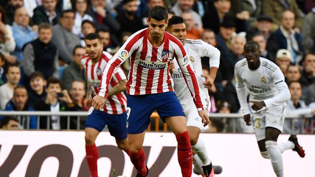 Morata touché à la jambe droite, l'Atlético dans l'urgence