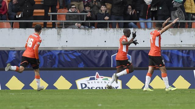 Lorient confirme sa bonne opération du week-end