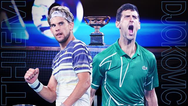 Djokovic - Thiem 6-4, 4-6, 2-6, 6-3, 6-4 | Novak Djokovic câștigă Australian Open 2020