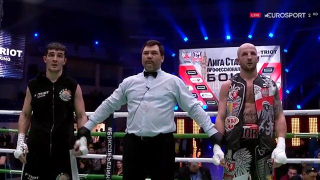 Boxeo, Tulaganov-Dabrowski: El uzbeko ganó a los puntos por unanimidad