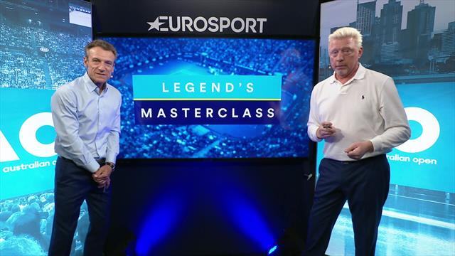 Legend's Masterclass: Wilander and Becker break down how the Australian Open final will be won