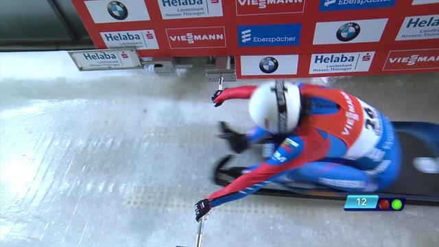 Иванова стала второй на этапе Кубка мира в Оберхофе и возглавила общий зачет
