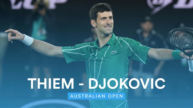 Open de Australia 2020: Thiem vs Djokovic, vídeo resumen del partido