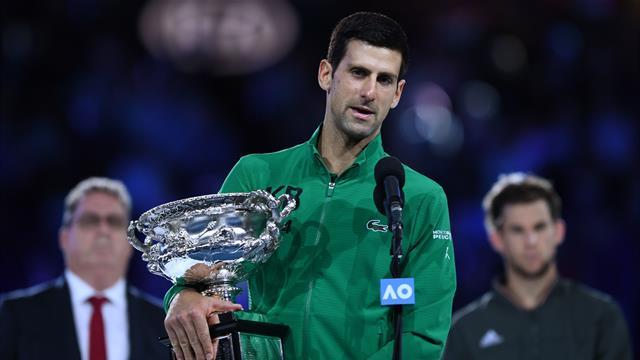 Novak Djokovic, discurs memorabil după al 8-lea titlu câștigat la Australian Open