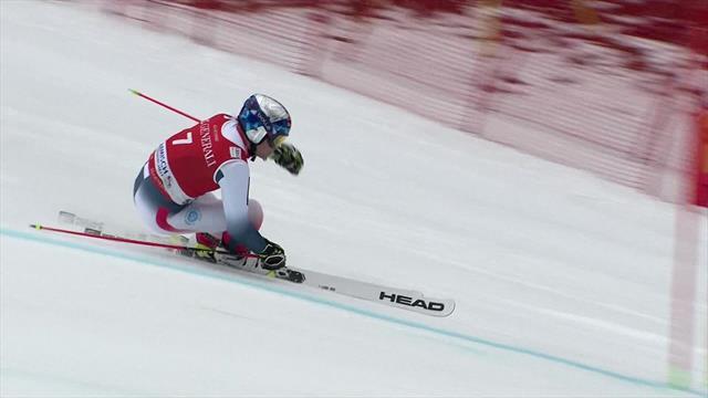 Watch Pinturault's winning run at Garmisch-Partenkirchen