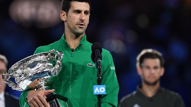 Djokovic efter sin ottende titel i Australien: Det her er mit yndlingsstadion i hele verden