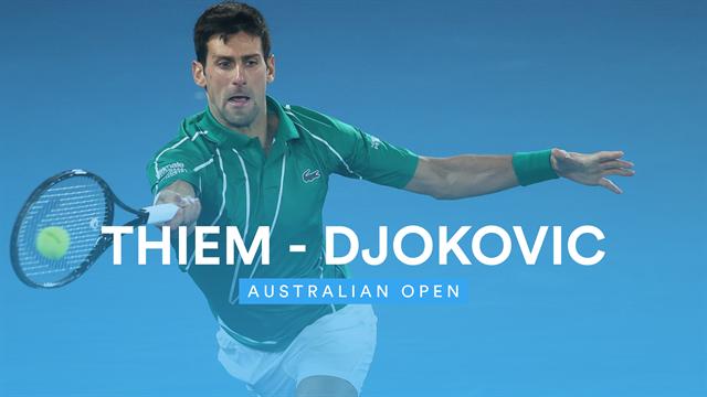Intensives Duell über vier Stunden: Die Highlights zum Djokovic-Triumph