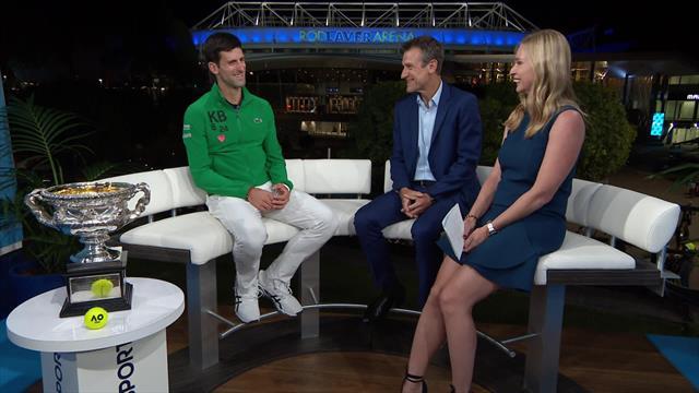 Djokovic targeting Federer's Grand Slam record