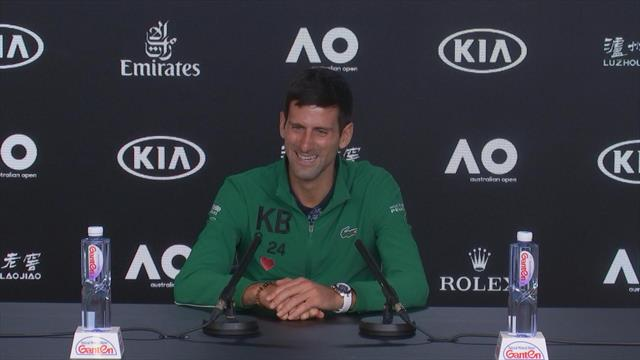 """Ancora """"Not Too Bad"""": si ripropone il siparietto tra Djokovic e Ubaldo Scanagatta"""