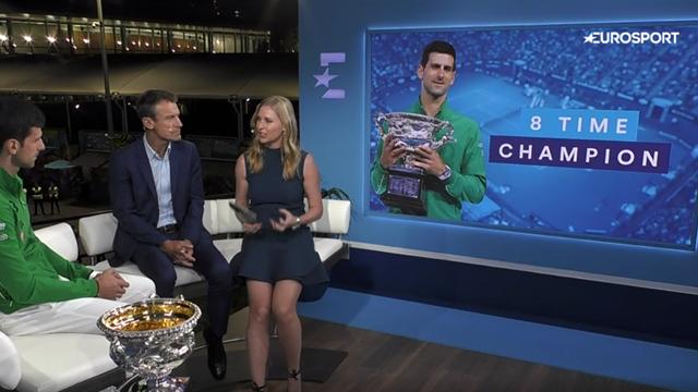 """Djokovic, în studioul Eurosport: """"Nu mi-a venit să cred ce mi se întâmplă. Am fost ameţit pe teren!"""""""