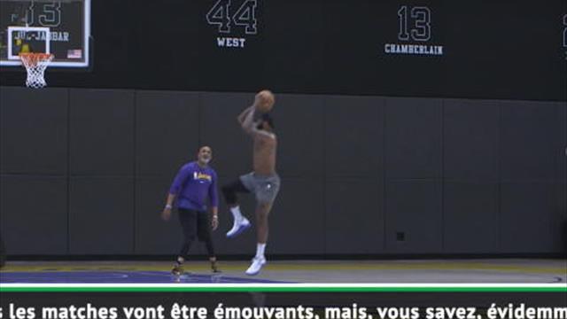 """Décès de Kobe Bryant - LeBron James : """"Chaque match va être émouvant"""""""