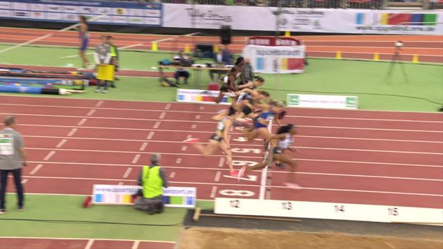 Même au couloir 8, Clemons domine la finale du 60 m