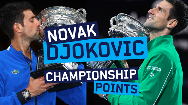 Australian Open| De acht championship points van Novak Djokovic