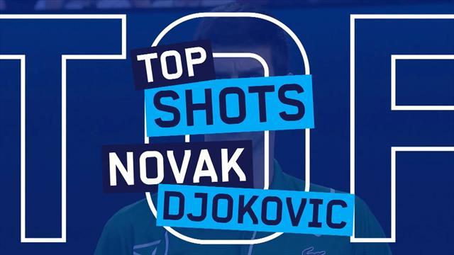 De beste punten van Novak Djokovic op de Australian Open 2020