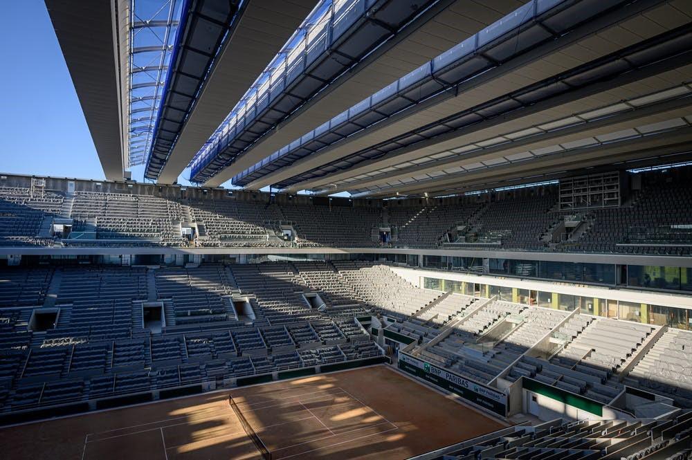 Le nouveau court Philippe-Chatrier (Photo: Roland-Garros)
