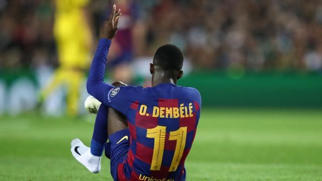 «Барса» подтвердила, что Дембеле перенес операцию и выбыл до конца сезона