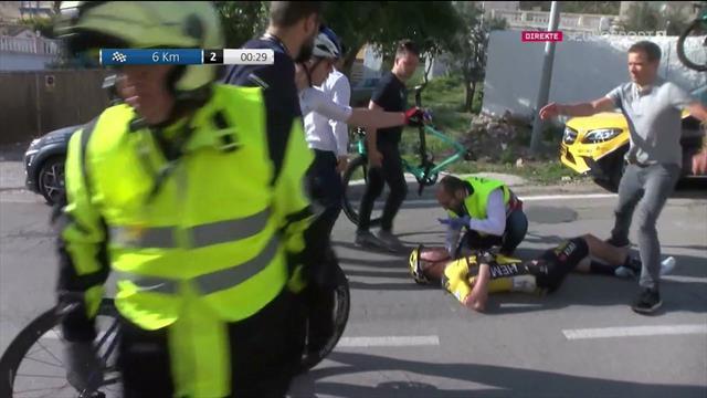 Her har den norske debutanten veltet stygt – frykter brudd