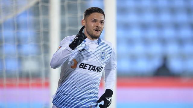 Alex Ioniță revine la Astra Giurgiu! CFR Cluj a anunțat împrumutul atacantului