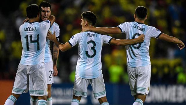 Argentiniens Fußballer lösen Olympiaticket - Brasilien bangt