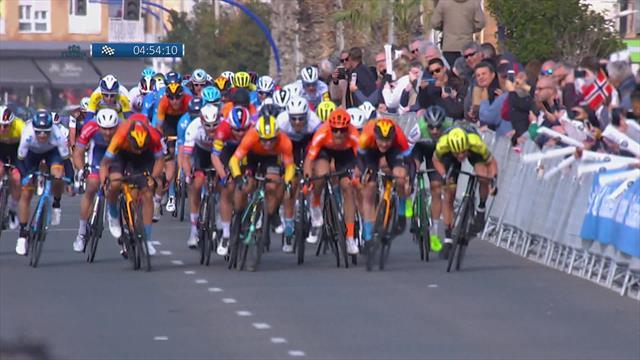 Ronde van Valencia| Dylan Groenewegen weer de snelste in de sprint