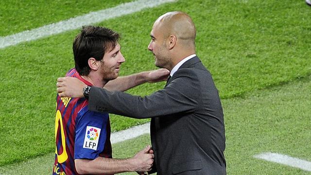 """Guardiola répond à la rumeur Messi à City : """"Mon souhait, c'est qu'il reste au Barça"""""""