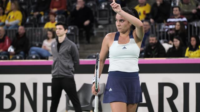 """Gabriela Ruse, după debutul în Fed Cup: """"Sunt foarte supărată, n-am să dorm bine la noapte"""""""