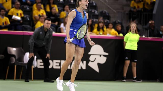 """Ana Bogdan, după victoria din Fed Cup: """"Acest succes are un loc special în sufletul meu"""""""