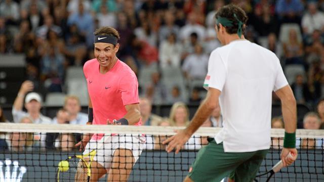 Afrika'da Yardım Maçı: Roger Federer vs. Rafa Nadal