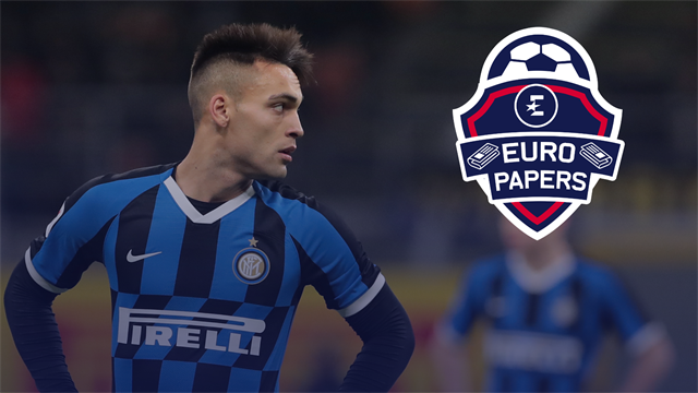 Hot-shot striker Lautaro Martinez attracts interest from a Premier League club - Euro Papers
