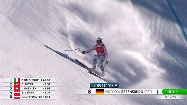 Watch the top three downhill runs in glorious Garmisch