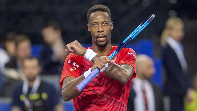 Monfils continues French dominance in Montpellier