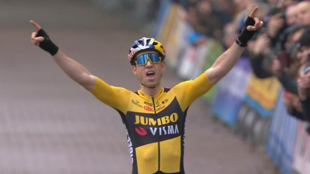Emotionaler Sieg für Van Aert: Erster Triumph nach schwerem Tour-Sturz