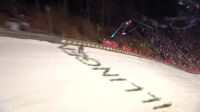 'Hey ho!' - Wonderful winning jump by Leyhe secures Willingen title