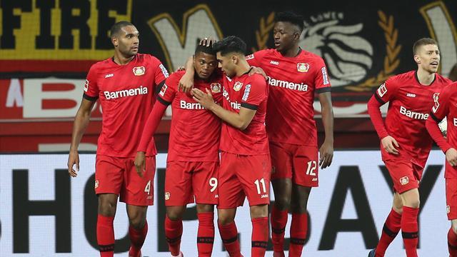 Dortmund tombe à Leverkusen après un match fou