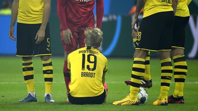 Diagnose bei Brandt steht: Dortmund muss nächsten Ausfall verkraften