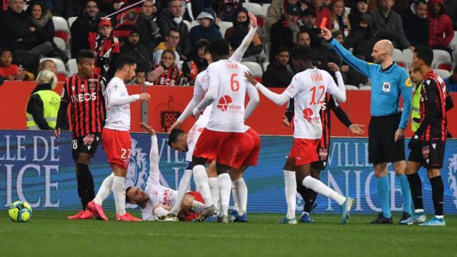 Trois matches de suspension ferme pour le Niçois Boudaoui