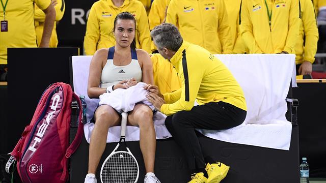 """Florin Segărceanu a explicat alcătuirea echipei de dublu din meciul de Fed Cup cu Rusia: """"Îmi asum"""""""