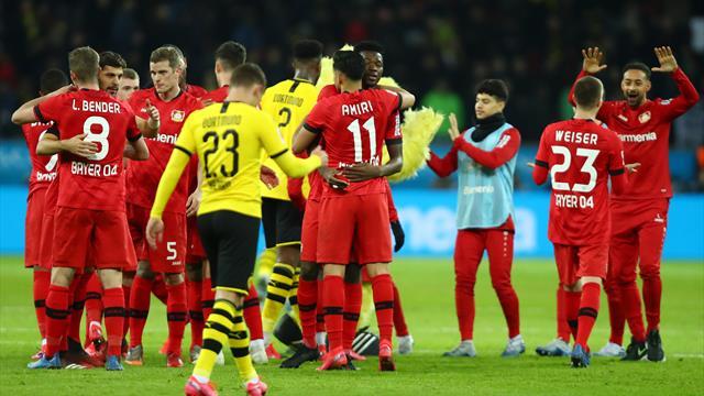 Sieben Tore! BVB verliert wildes Offensiv-Spektakel in Leverkusen