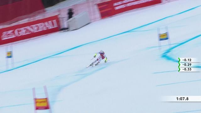 Garmisch-Partenkirchen| Corinne Sutter pakt leiding in wereldbekerklassement Super G