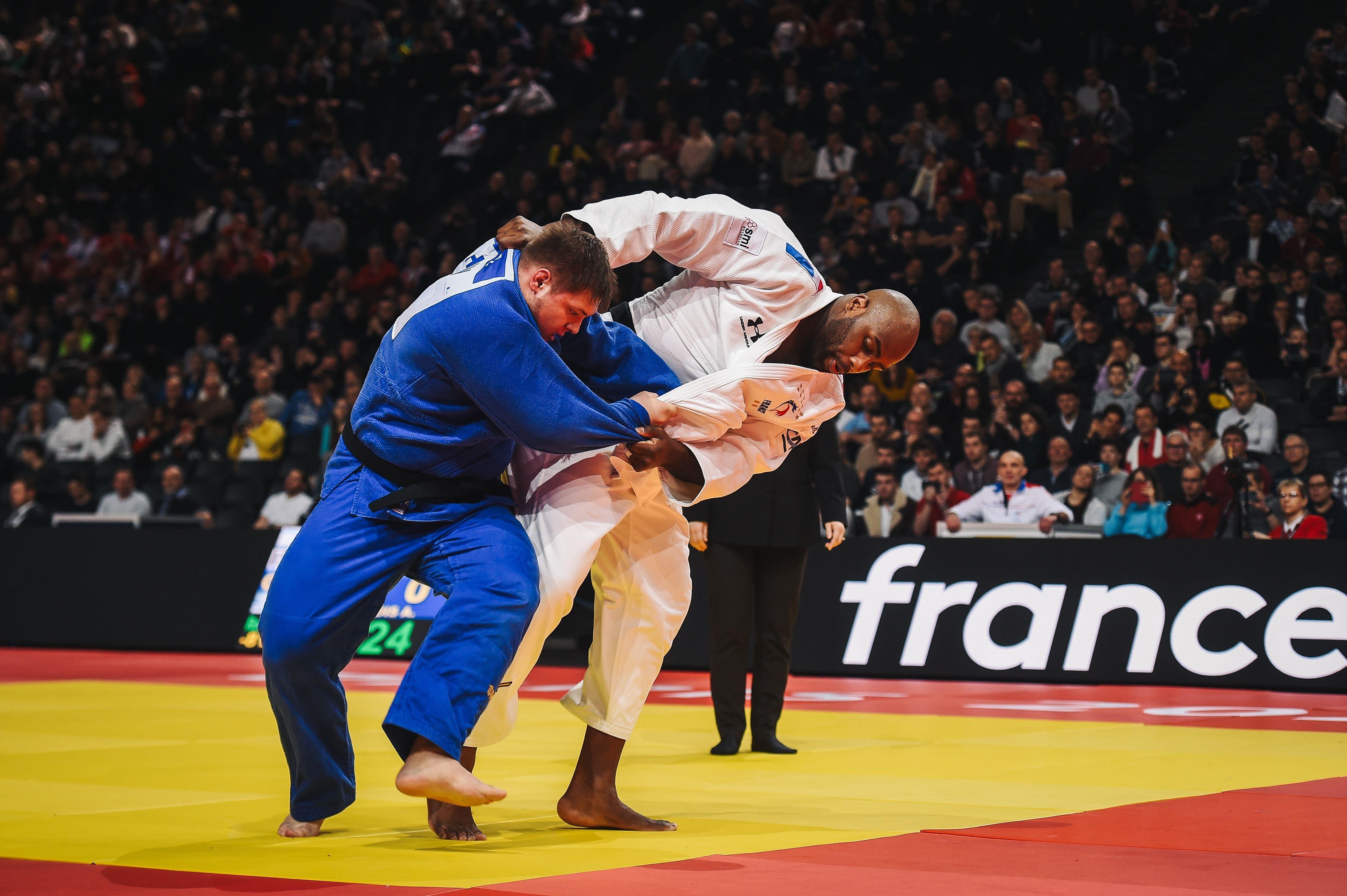 Teddy Riner contre Richard Sipocz au Grand Slam de Paris 2020