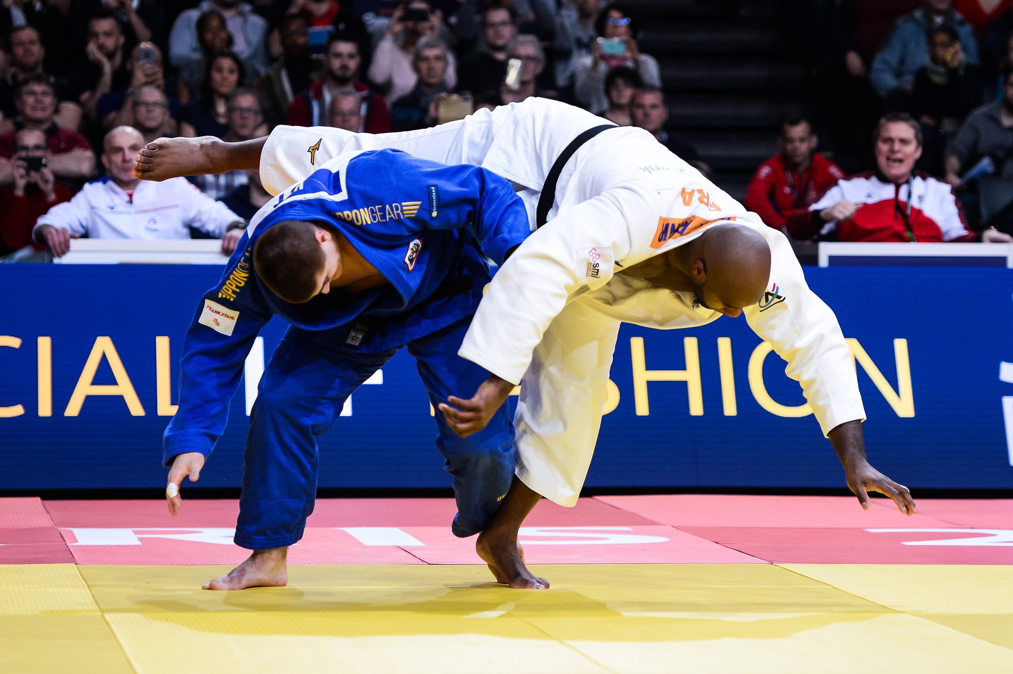 Teddy Riner contre Stephan Hegyi au Grand Slam de Paris 2020