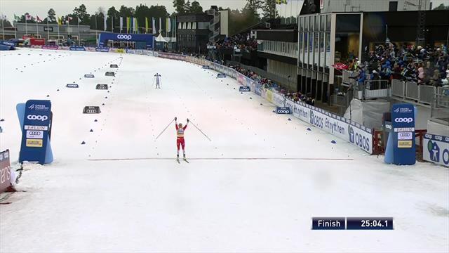 Johaug wins again