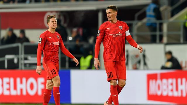 Ingolstadt verpasst Tabellenführung - Erste Niederlage nach 13 Partien