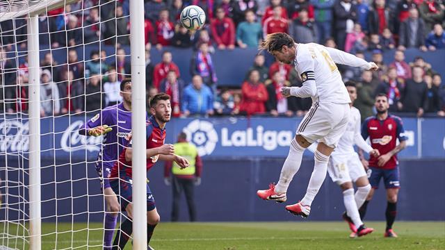 Le Real passe ses nerfs sur Osasuna