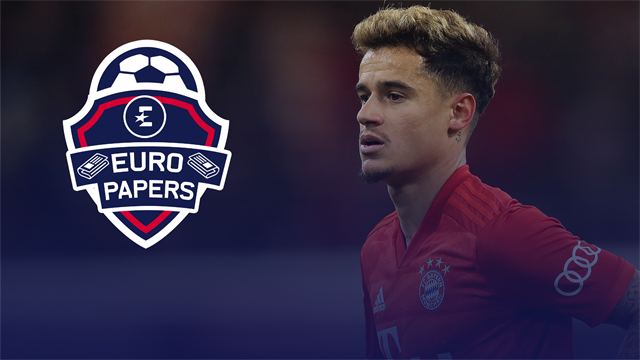 Euro Papers: Liverpool could re-sign Coutinho… if first-choice target fails