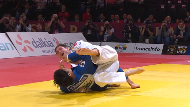 The top five moments from Judo's Paris Grand Prix
